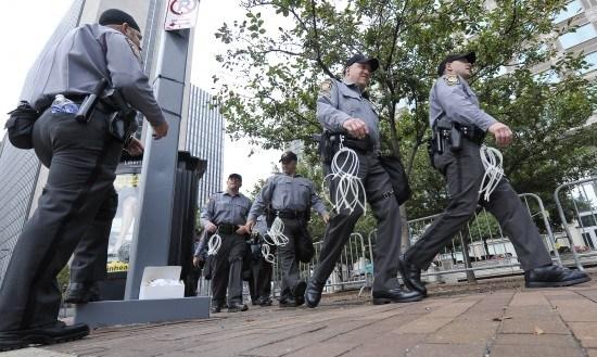 组图:美国匹兹堡市加强戒备迎接G20峰会