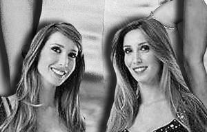 """""""贝女郎""""孪生姐妹埃莱奥诺拉和德・维沃"""
