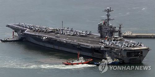"""美国""""乔治?华盛顿号""""核动力航母"""