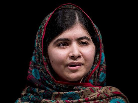 巴基斯坦17岁人权活动家马拉拉・尤萨夫扎伊