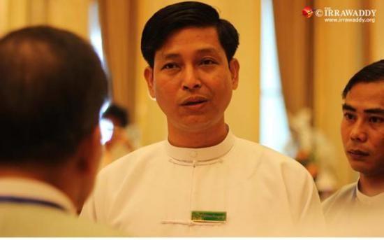 缅甸总统办公室主任副吴卓铁(资料图)