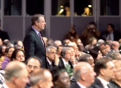 美国前副总统戈尔被称环保界第一意见领袖