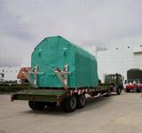 神舟七号飞船运输过程
