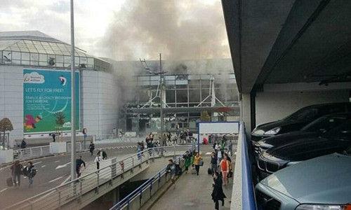 布鲁塞尔机场、地铁站发生连环恐怖袭击