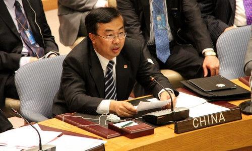 中国驻联合国副代表王民大使反对联合国提升中国会费分摊比例