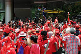 示威者冲破泰国军警封锁线