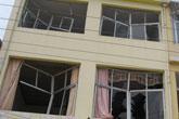 爆炸给附近民房造成损害