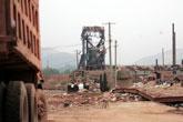 发生爆炸的晶鑫矿业厂区