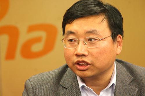 中国农业大学教务处副处长、招生办主任周旭峰做客新浪谈09高招
