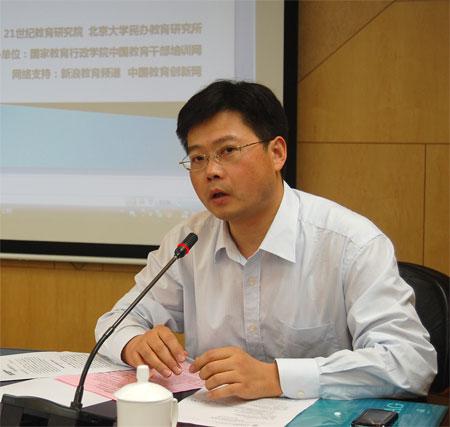 《中小学管理》杂志社社长助理,21世纪教育研究院副院长柴纯青