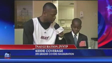 威沃采访NBA球星韦德