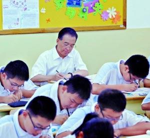 总理和学生同上五堂课