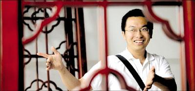 人大硕士生赵晗在北京后海开饭馆