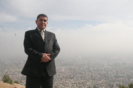 阿拉伯叙利亚共和国新闻部国际事务官员阿卜杜勒.哈姆