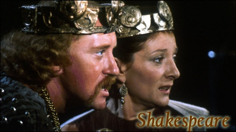 Nicol Williamson as Macbeth and Jane Lapotaire as Lady Macbeth in a BBC TV production