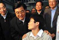胡锦涛主席考察北京大学