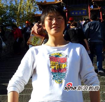 宁夏2010年高考文科状元张佳颖