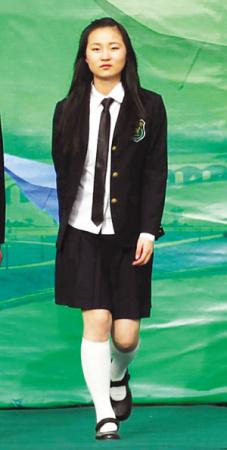 南京の学校の制服に中国学生からドレスpkは写真顔 Milanoo