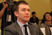 澳洲Navitas教育中国区首席代表Tom Hands观看选手表现