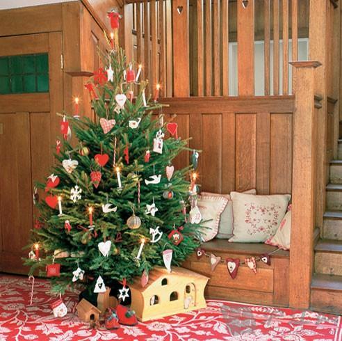 六种创意方式 装扮你的圣诞树