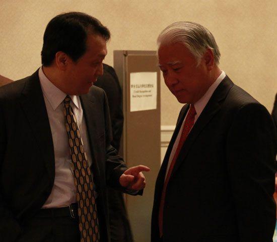 2011中国留学论坛现场嘉宾交流