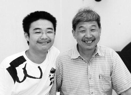 郭修武和他的父亲
