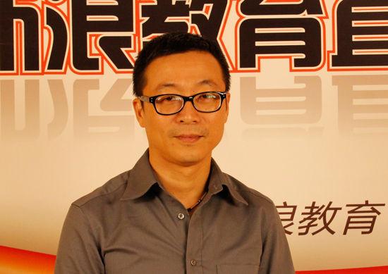 启德教育北京公司总经理詹晶明老师做客新浪