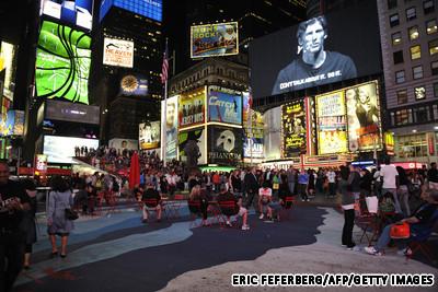 美国纽约,时代广场