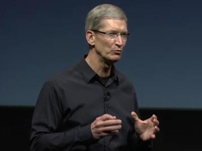 苹果新上任CEO蒂姆・库克