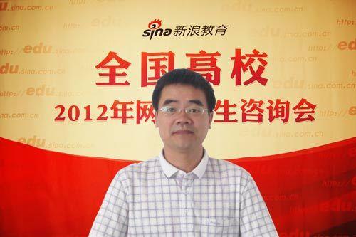 北华航天工业学院招生就业处朱凯峰副处长做客新浪