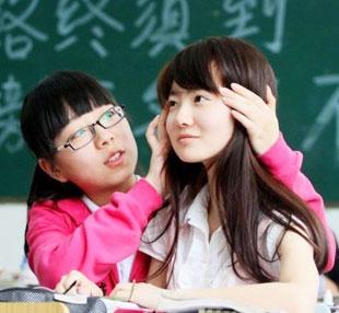 实拍2012年最美女考生