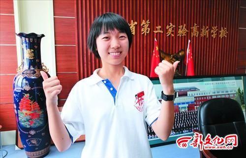 喜欢挑战自我的杨天起 记者 李洪亮 摄