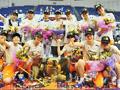 女篮连续4年加冕全国总冠军