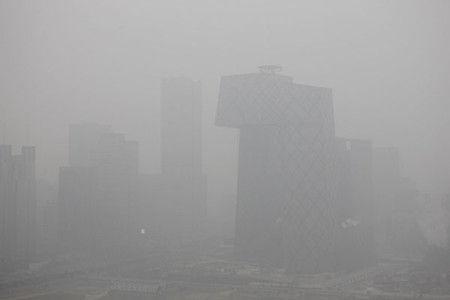 雾霾罩京城北京次启动严重染应急方案