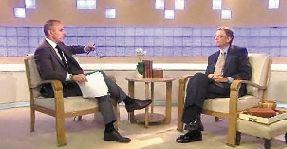 盖茨接受美国全国广播公司记者专访
