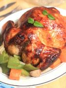 中式蜜汁烤全鸡