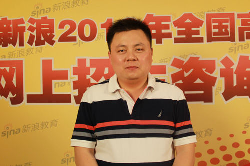 陕西科技大学招办主任梁云鹤做客新浪