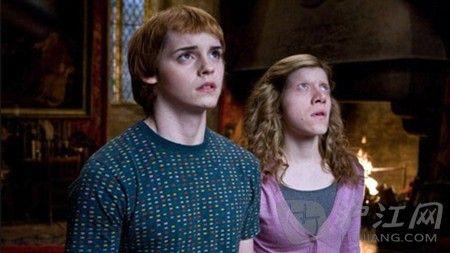 《哈利波特》罗恩·卫斯理和赫敏换脸后像是被施了魔咒.图片