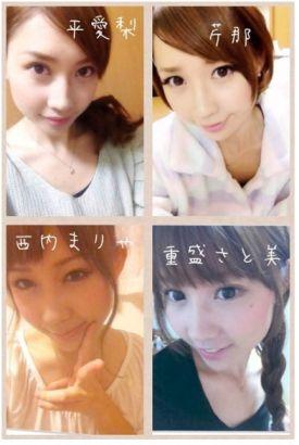日本少女使用神奇化妆术模仿24位女星的妆容
