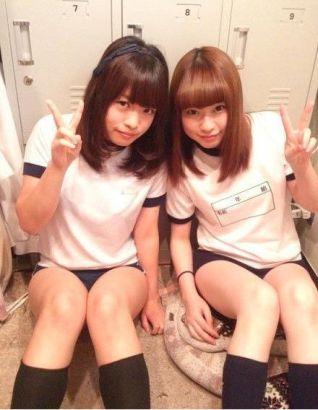 日本女学生体育课校服