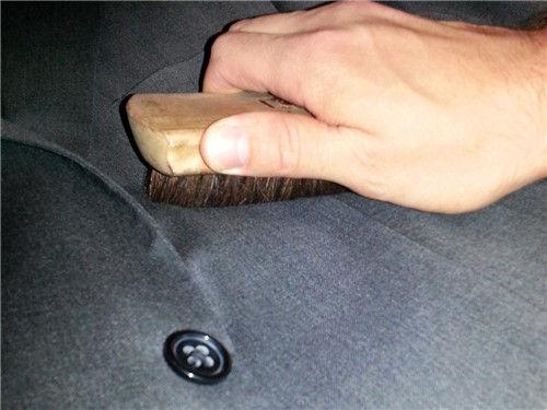 suit brush