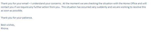 格拉斯哥大学(University of Glasgow)回复邮件