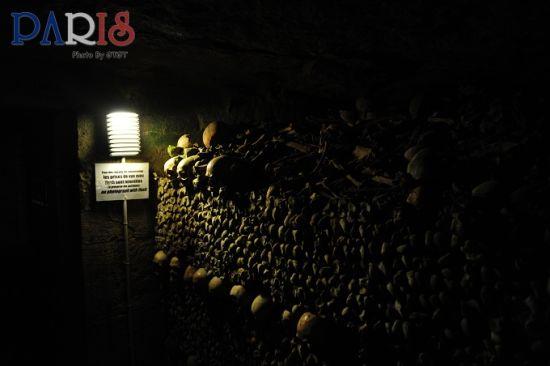 和600万死者灵魂同游巴黎地下墓葬