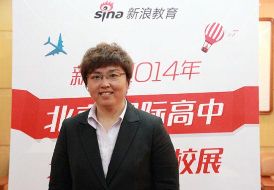 美国剑桥国际教育中国区执行总监安亮