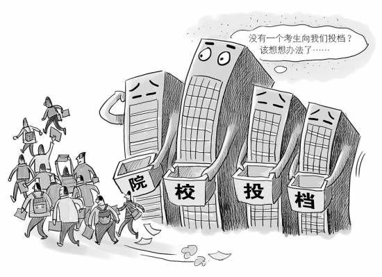 """高职学校遭遇大面积""""零投档"""""""