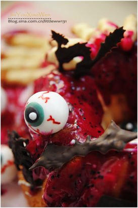 胆小勿入:万圣节恐怖蛋糕吓破你的胆
