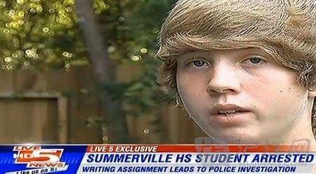 学生作文虚构枪杀恐龙 学校竟报警