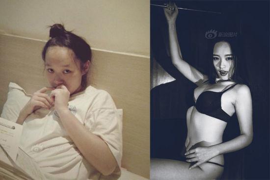 170斤胖妞变身90斤长腿女神