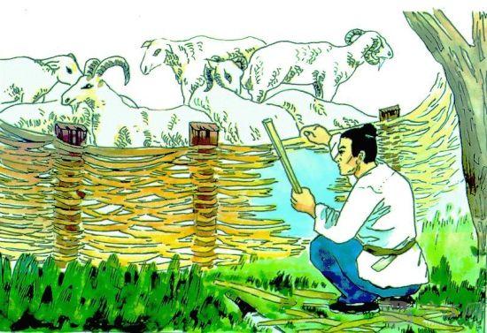 少儿成语双语故事:亡羊补牢