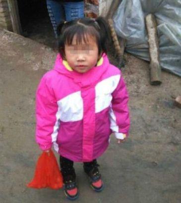 4岁的郭佳佳